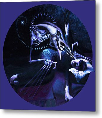 The Hallucinator Metal Print