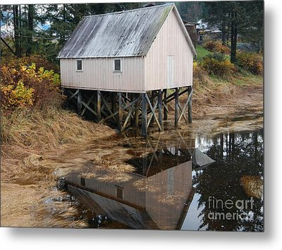 The Hammer Slough Metal Print