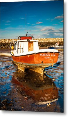 The Harbour Metal Print by Christine Smart