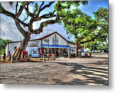 Metal Print featuring the digital art The Hardware Store by Michael Thomas