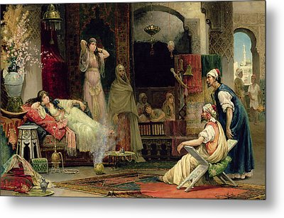 The Harem Metal Print by Juan Gimenez y Martin