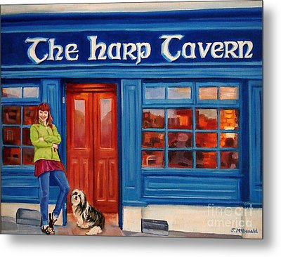 The Harp Tavern Metal Print