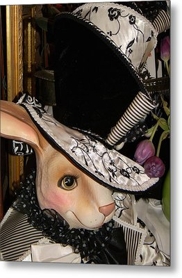 Metal Print featuring the photograph The Hat by Jean Goodwin Brooks