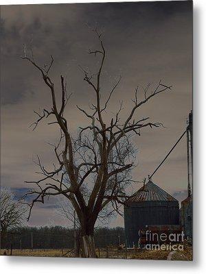 The Haunting Tree Metal Print