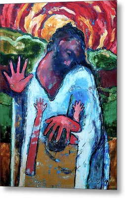 The Healing Of A Child Metal Print