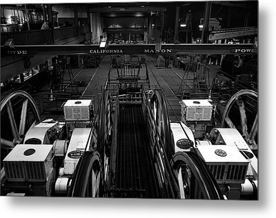 The Heart Of San Francisco Cable-car Metal Print by RicardMN Photography