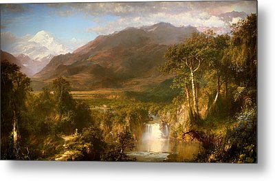The Heart Of The Andes Metal Print by Mountain Dreams