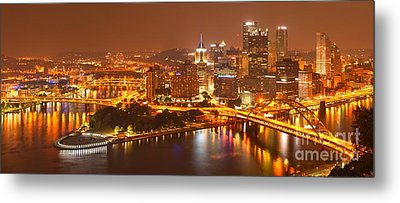 The Heart Of The Three Rivers Metal Print by Adam Jewell