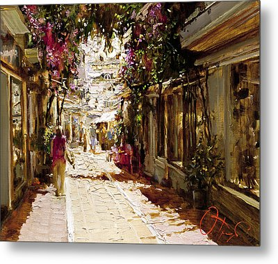 The Heat Of Andalusia Metal Print by Oleg Trofimoff