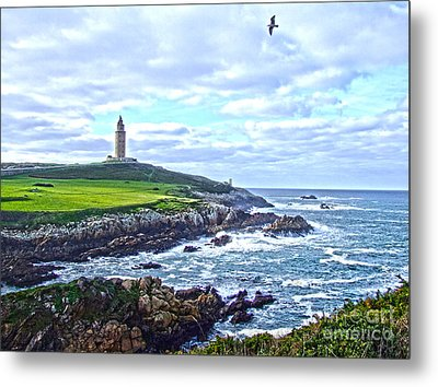 The Hercules Tower Metal Print