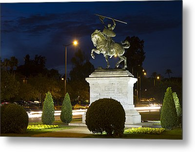Metal Print featuring the photograph The Hero Of Spain by Nathan Rupert
