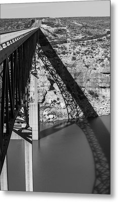 The High Bridge Metal Print by Amber Kresge