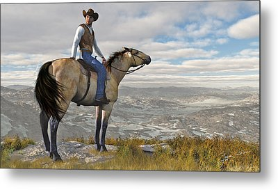 The High Country Metal Print
