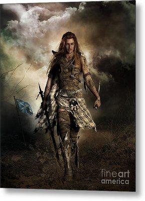 The Highlander Metal Print