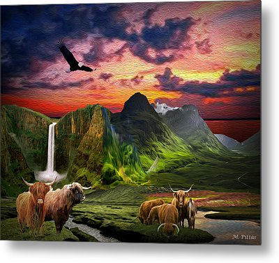 The Highlands Metal Print