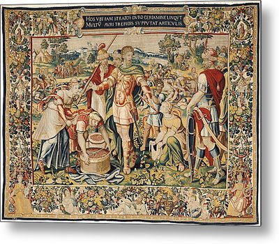The History Of Hannibal The Plunder Metal Print by Everett