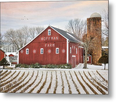 The Hoffman Farm Metal Print by Lori Deiter