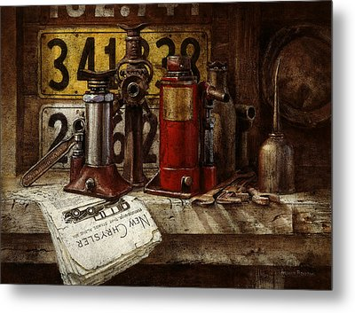 The Hold-up Gang Metal Print by Graham Braddock