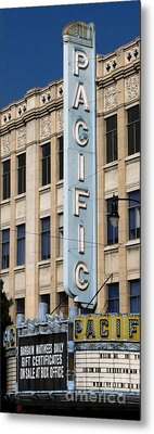 The Hollywood Pacific Theatre Metal Print by Gregory Dyer