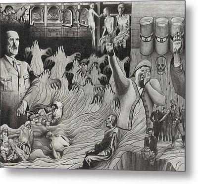 The Holocaust Metal Print by Dennis Nadeau