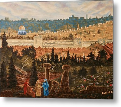 The Holy City Metal Print