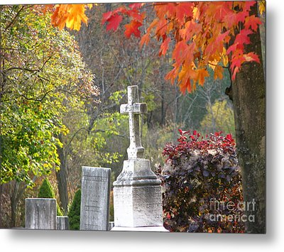 The Holy Cross Metal Print