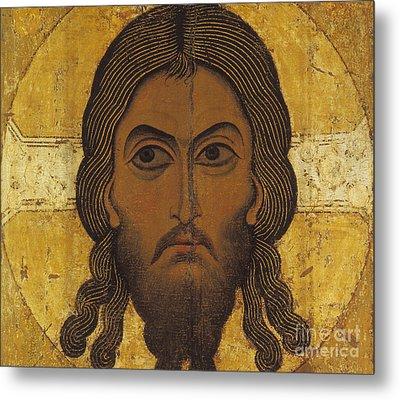 The Holy Face Metal Print by Novgorod School