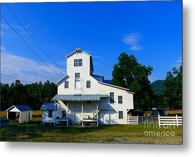 The Homan Mill Metal Print by Teena Bowers