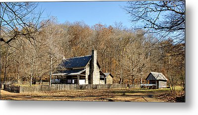 The Homeplace - Main House Metal Print