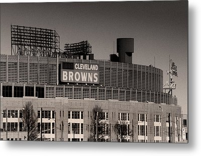 The Hometeams Metal Print by Kenneth Krolikowski