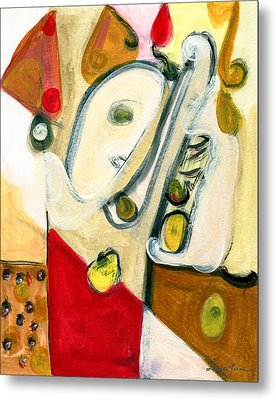 The Horn Player Metal Print