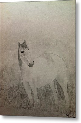 The Horse Metal Print by Noah Burdett