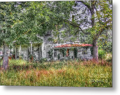 The House In The Woods Metal Print by Dan Stone