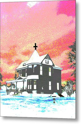 The House Of Haunted Hill Metal Print by Jimi Bush