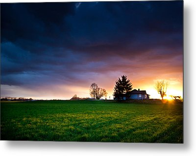 The House Of The Rising Sun Metal Print by Eti Reid