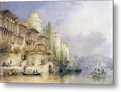 The House On The Bosphorus Metal Print
