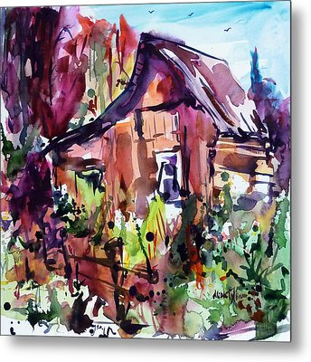 The House On The Edge Of The Forest Metal Print