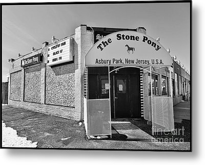 Metal Print featuring the photograph The House That Bruce Built II - The Stone Pony by Lee Dos Santos