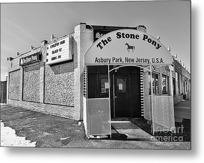 Metal Print featuring the photograph The House That Bruce Built - The Stone Pony by Lee Dos Santos