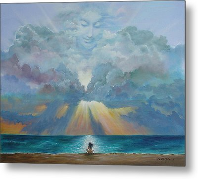 The I Am Presence Metal Print by JoAnne Castelli-Castor