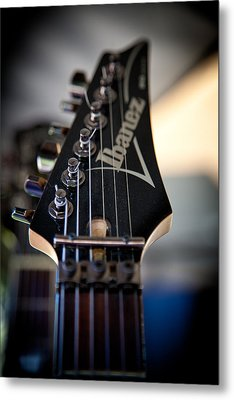 The Ibanez Guitar Metal Print