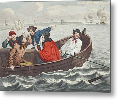 The Idle Prentice Turned Away And Sent Metal Print