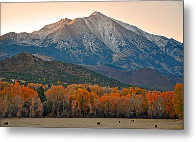 The Impressive Mount Sopris   Metal Print