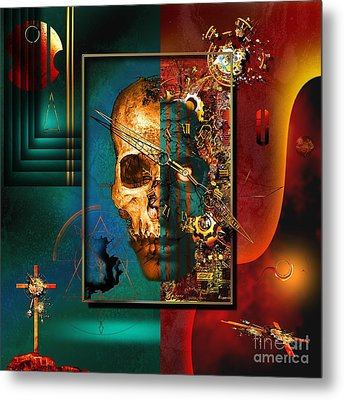 The Inconceivability Of The Being Metal Print by Franziskus Pfleghart