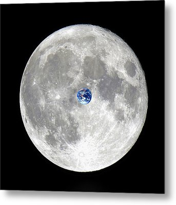 The Incredible Shrinking Planet Metal Print by Kellice Swaggerty
