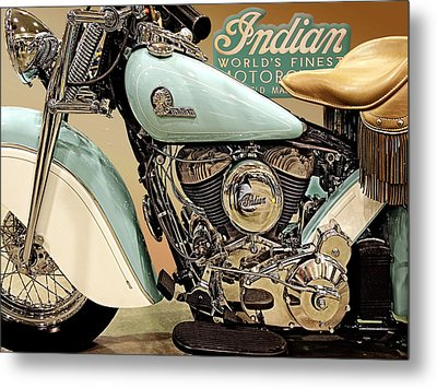 The Indian Metal Print
