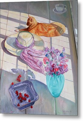 The Interloper Metal Print by Timothy  Easton
