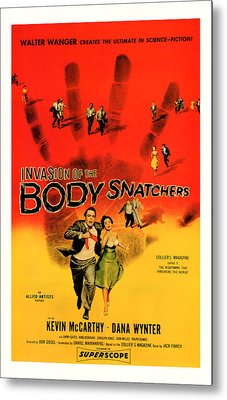 The Invasion Of The Body Snatchers 1956 Metal Print