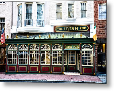 The Irish Pub - Philadelphia Metal Print by Bill Cannon