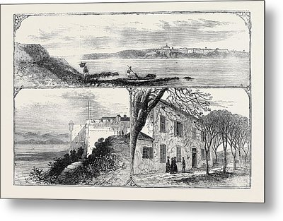 The Island And Fort Of St Metal Print by English School